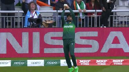 CWC19: IND v PAK - Pandya is caught on the boundary