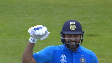 CWC19: IND v PAK - India post 336/5, first innings highlights