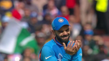 CWC19: IND v PAK - Kohli has had an emotional day in the field