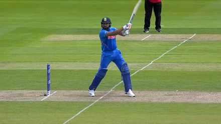 Nissan POTD: Rohit carves Hassan Ali for six over point