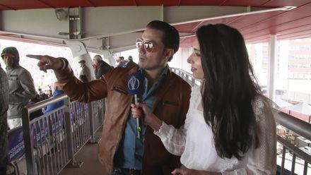 CWC19: IND v PAK - Zainab chats with Ali Zafar