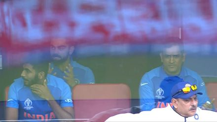 CWC19: IND v PAK - Kohli reaction to seeing there was no edge