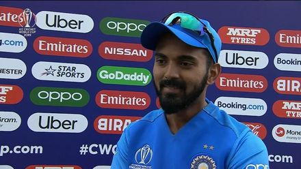 CWC19: IND v PAK - KL Rahul shares his thoughts after India's innings