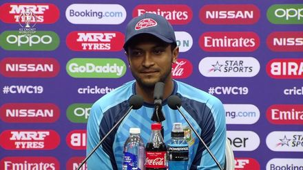 CWC19: WI v BAN - Shakib Al Hasan post-match press conference