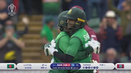CWC19: WI v BAN - Match highlights