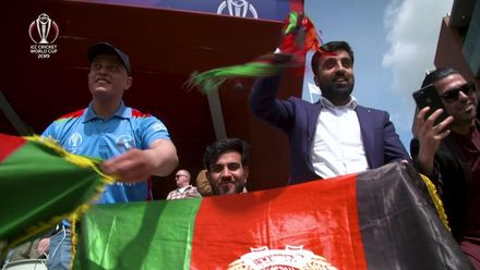 CWC19: ENG v AFG- Afghan fans continue to support their side