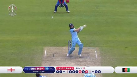 CWC19: ENG v AFG - Buttler out for two looking to accelerate
