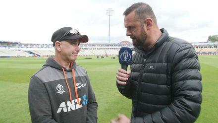 CWC19: NZ v SA - At the nets