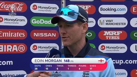 CWC19: ENG v AFG - Player of the match, Eoin Morgan