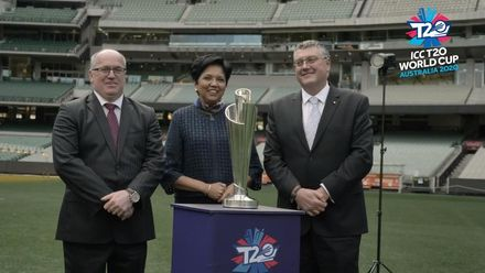 ICC Director Indra Nooyi at the MCG