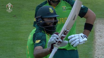 CWC19: NZ v SA - Amla fifty montage