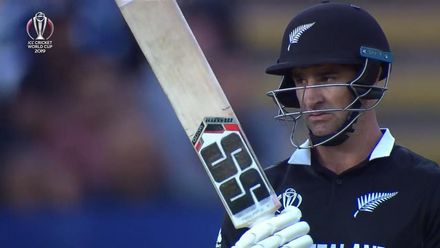 CWC19: NZ v SA - De Grandhomme fifty montage