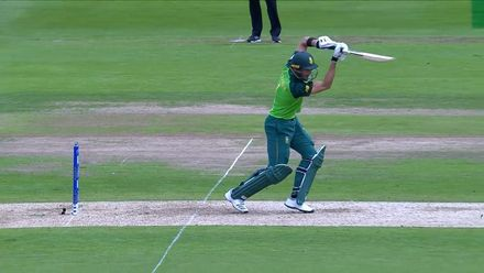 CWC19: NZ v SA - Markram strikes a glorious four through the covers