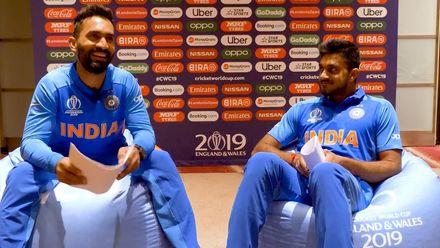 CWC19: Perfect Pairs - Dinesh Karthik and Vijay Shankar