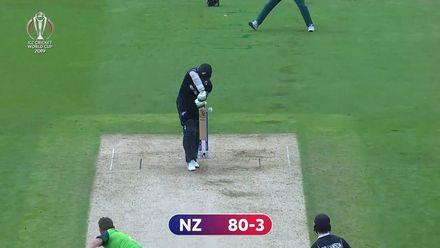 CWC19: NZ v SA - Morris bowls a pearler to remove Latham