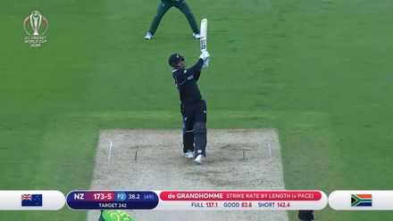 CWC19: NZ v SA - Highlights of New Zealand's chase of 242 to win