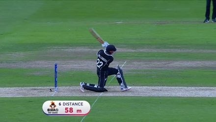 Nissan POTD: Kane Williamson hits Phehlukwayo for six to tie the scores and bring up his hundred