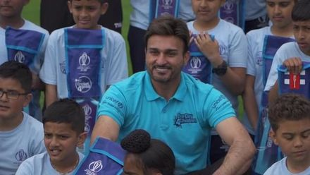 CWC19: Afghanistan participate in a Cricket For Good session