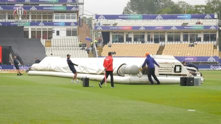 CWC19: NZ v SA - The Edgbaston groundstaff did a tremendous job to minimize the delay to the start