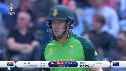 CWC19: NZ v SA - David Miller goes past 3000 ODI  runs