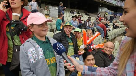 CWC19: NZ v SA - Elma speaks to some very confident South African fans