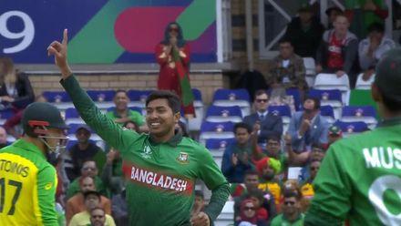 CWC19: AUS v BAN - Soumya Sarkar 3/58 highlights