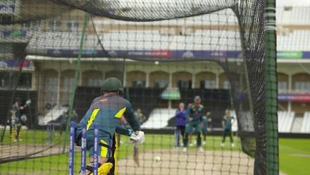 CWC19: AUS v BAN - At the nets
