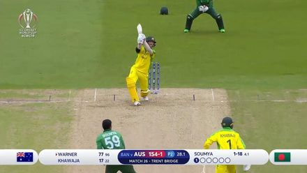 CWC19: AUS v BAN - Highlights as Australia set mammoth 381/5
