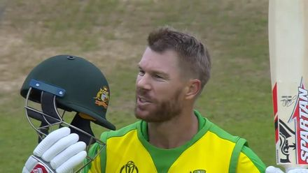 CWC19: AUS v BAN - Oppo Be a Shotmaker: David Warner