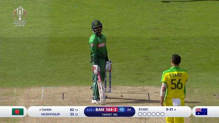 CWC19: AUS v BAN - How Bangladesh lost their wickets