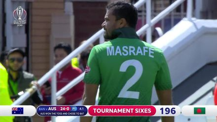 CWC_2019_MATCH26_AUSvBAN_AUS_4.1_FINCH_1ST_SIX