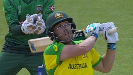 CWC19: AUS v BAN - Aaron Finch scored 53, highlights