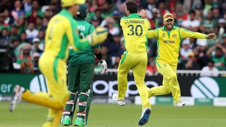 CWC19: AUS v BAN - Match highlights