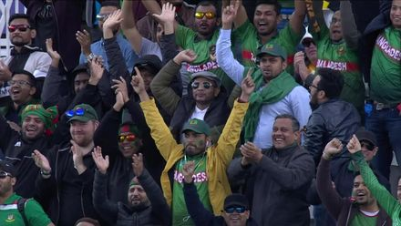 CWC19: AUS v BAN - The Bangladesh fans are in good spirits after their team's strong start to the tournament