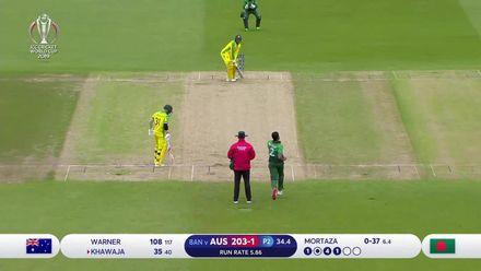 CWC19: AUS v BAN - Highlights as Australia set mammoth 381/5
