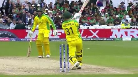 CWC19: AUS v BAN - Highlights of Warner's 166