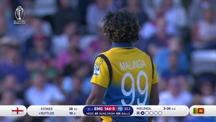 CWC19: ENG v SL - England wickets