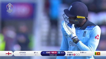 CWC19: ENG v SL - Archer caught in the deep