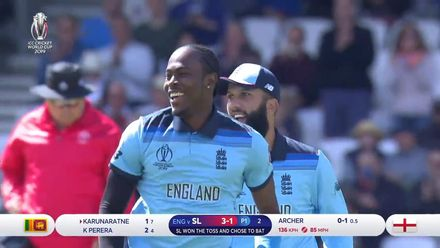 CWC19: ENG v SL - Archer's three make him the leading wicket taker at CWC19
