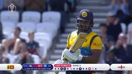 CWC19: ENG v SL - Sri Lanka innings highlights