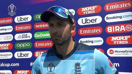 CWC19: ENG v SL - Mark Wood interview