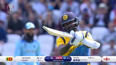 CWC19: ENG v SL - Udana presents a simple catch to Root