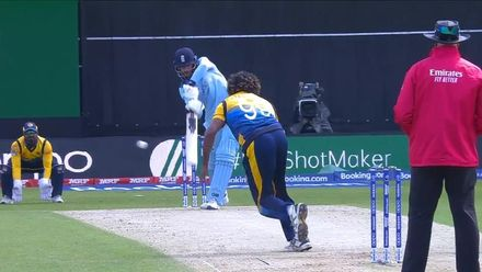 CWC19: ENG v SL - Vince caught in the slips