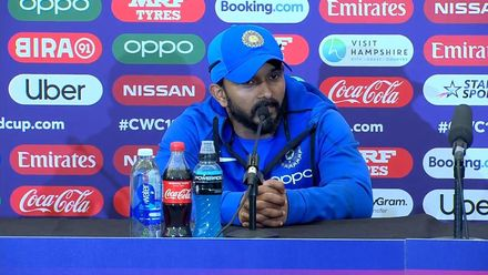 CWC19: IND v AFG - Jadhav post-match interview