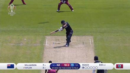 CWC19: WI v NZ - New Zealand innings highlights