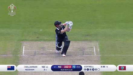 CWC19: WI v NZ - Williamson's sublime 148