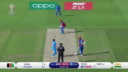 CWC19: IND v AFG - Mohammad Shami's hat-trick