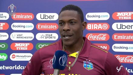 CWC19: WI v NZ - Cottrell: 'When there's swing I'm dangerous'