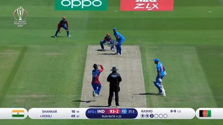CWC19: IND v AFG - Match highlights