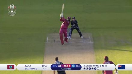 CWC19: WI v NZ - Gayle falls short of century